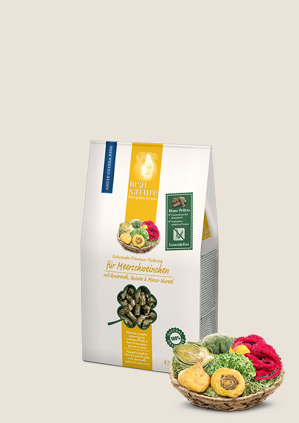 REAL NATURE alimento super premium per porcellini d'India