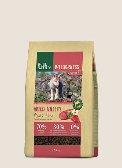 Real nature hundefutter country selection